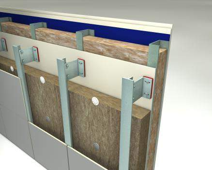Rock Mineral Wool - Rainscreen Facade Insulation - Rainscreen Slab