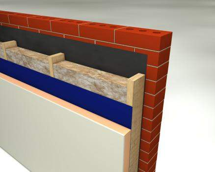 Glass Mineral Wool - Masonry Cavity Walls - Cavity Roll