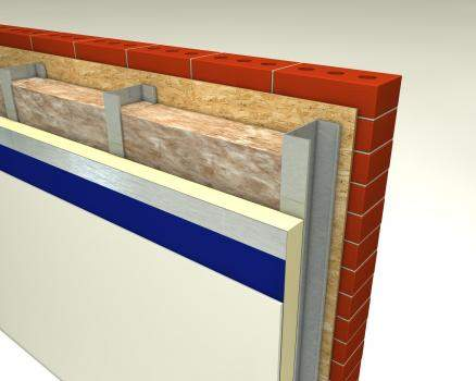Glass Mineral Wool - Light Steel Frame Walls - Steeltherm Roll