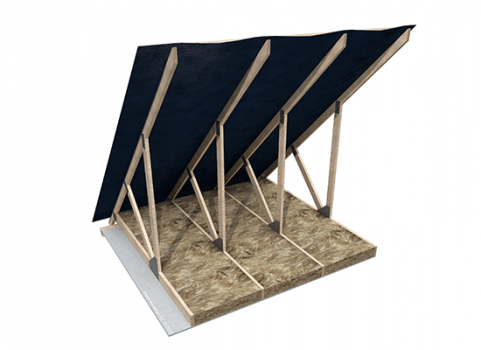 Glass Mineral Wool - Pitched Roofs at Ceiling Level - Ceiling Roll (Multi pack)